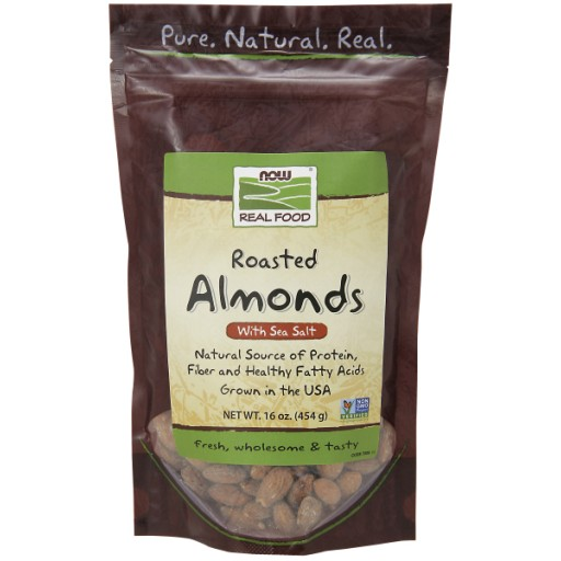 Almonds Roasted & Salted - 1 lb