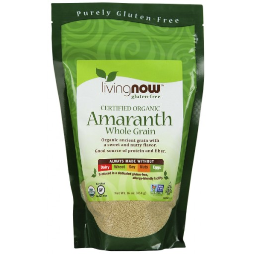 Amaranth Grain Certified Organic - 16 oz