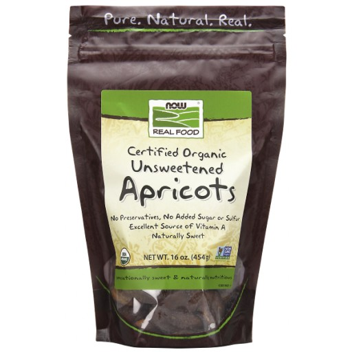 Dried Apricots, Certified Organic - 16 oz