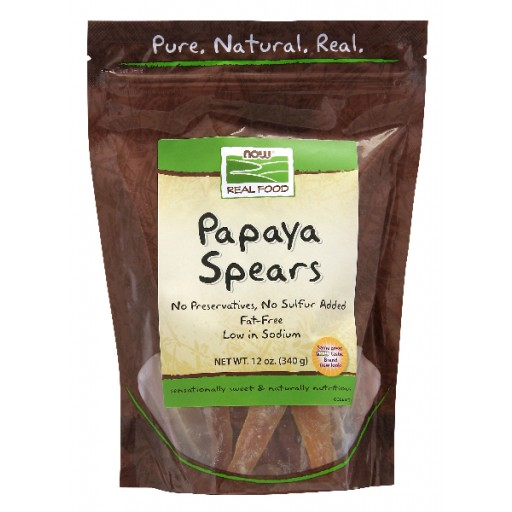 Dried Papaya Spears- 12 oz
