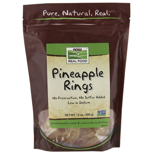 Dried Pineapple Rings - 12 oz