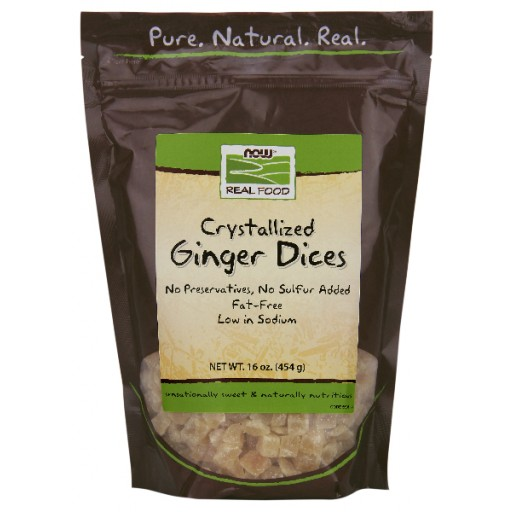 Ginger Dices Crystallized - 16 oz