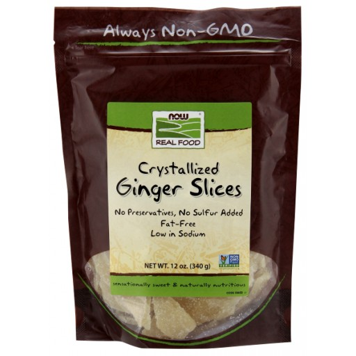 Ginger Slices Crystallized - 12 oz