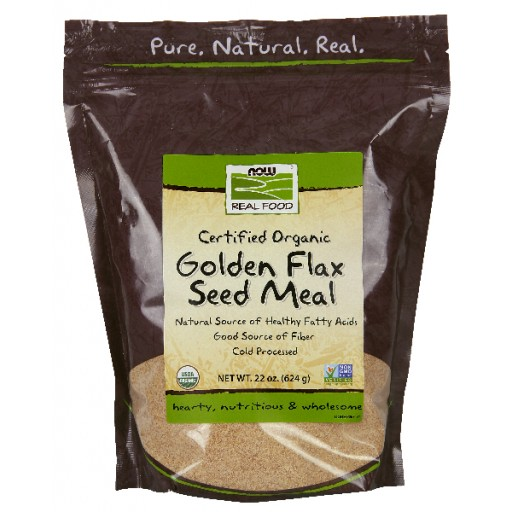 Golden Flax Seed Meal, Certified Organic - 22 oz