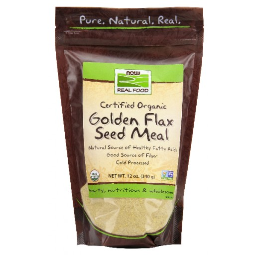 Golden Flax Seed Meal Organic - 12 oz