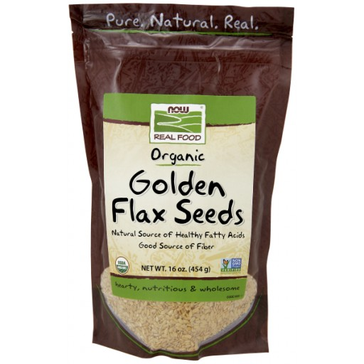 Golden Flax Seeds Certified Organic - 16 oz