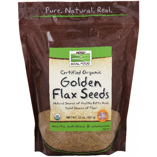 Golden Flax Seeds Certified Organic - 2 lbs