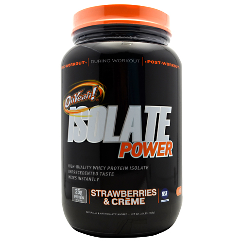 Isolate Power Strawberries & Creme 2 lbs