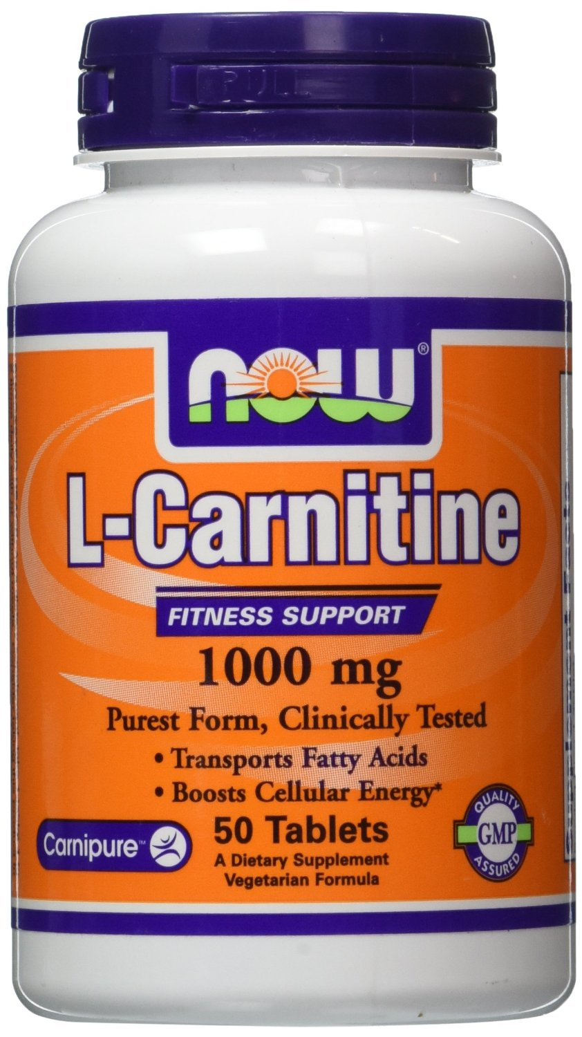 L-Carnitine 1000 mg - 50 Tablets