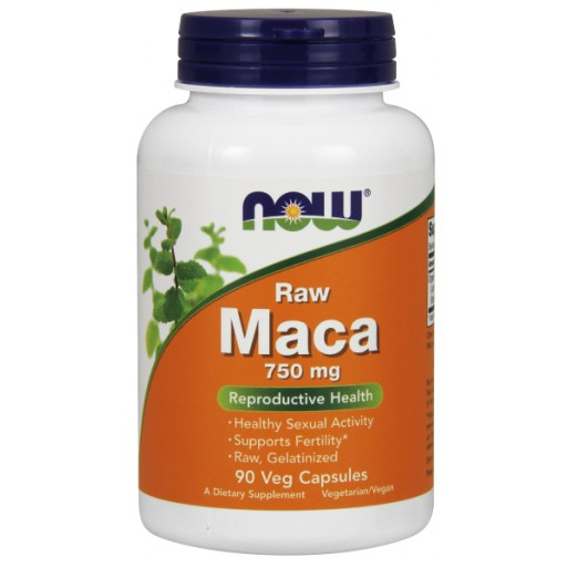 Maca 750 mg Raw - 90 Veg Capsules