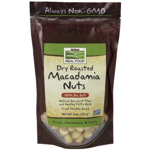 Macadamia Nuts Dry Roasted and Salted - 9 oz