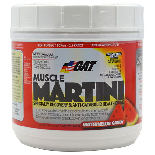 Muscle Martini Watermelon Candy 365 g