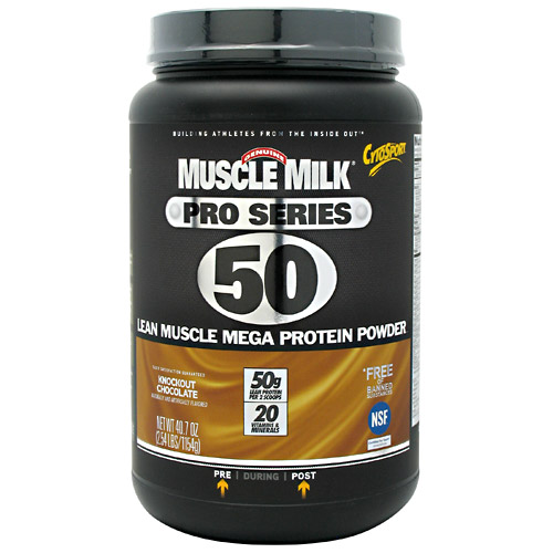 Muscle Milk Pro Series Knockout Chocolate 2.54 lbs