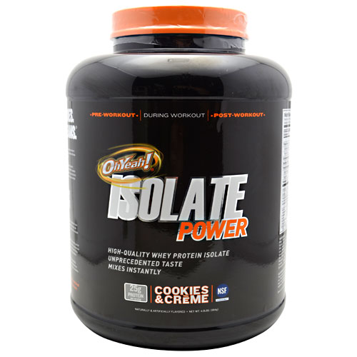 OhYeah! Isolate Power Cookies & Creme 4 lbs