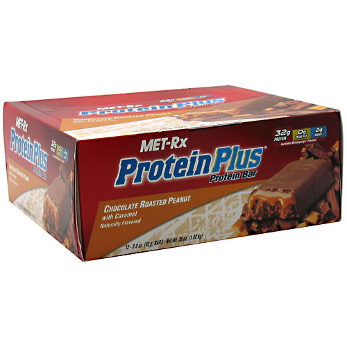 Protein Plus Protein Bar Chocolate Roasted Peanut with Caramel
