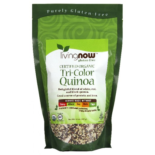Tri-Color Quinoa Certified Organic - 14 oz