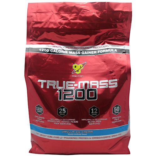 True Mass 1200 Vanilla Ice Cream 10.25 lbs