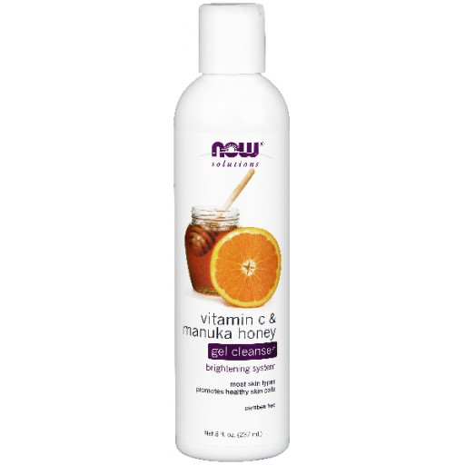 Vitamin C & Manuka Honey Gel Cleanser - 8 oz.