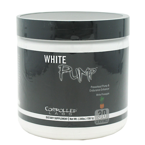 White Pump White Pineapple 30 Servings