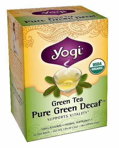 Yogi Green Tea Pure Green Decaf 16 Bags