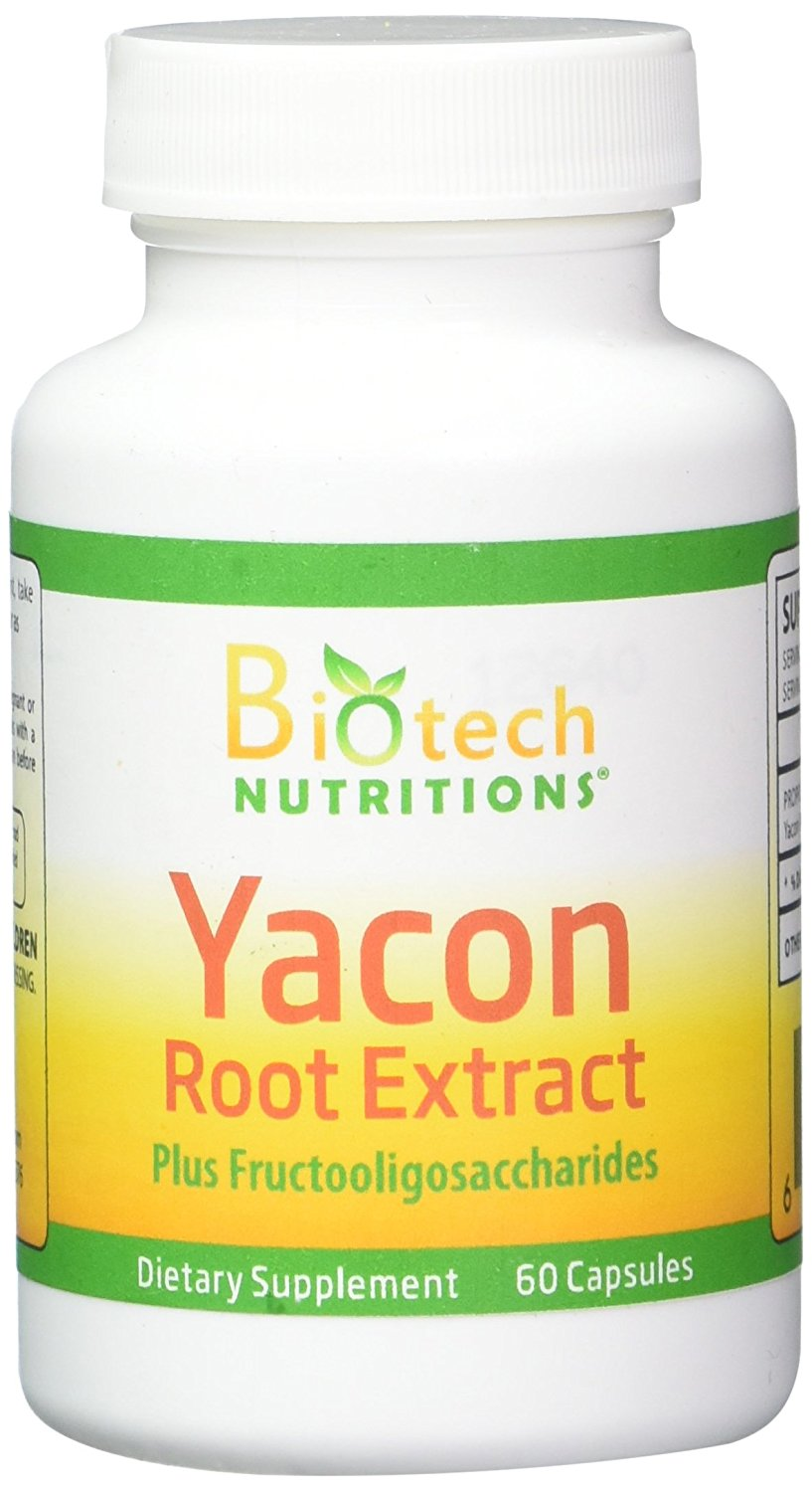 Biotech Nutritions Yacon Root Extract 60 Capsules