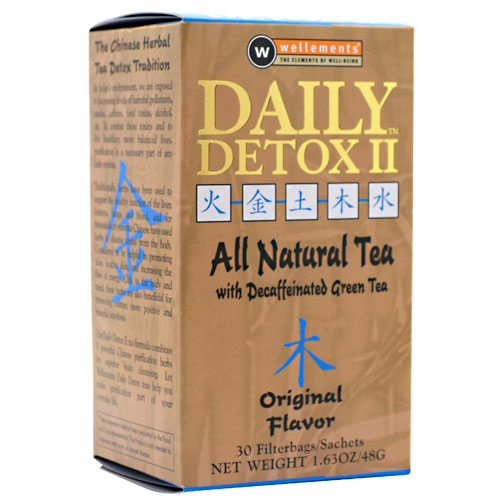 Daily Detox II Herbal Tea 60 ct