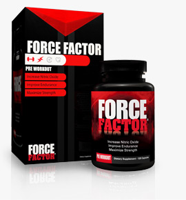 Force Factor - NO2 Nitric Oxide Muscle Supplement 120ct