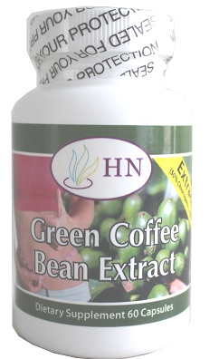 Pure Green Coffee Bean Extract 60 Ct