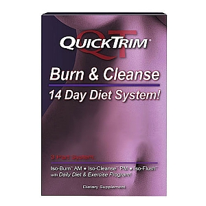 QuickTrim Burn & Cleanse 14-Days Supply