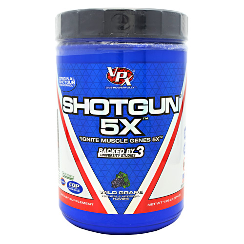 Shotgun 5X Wild Grape 28 Servings