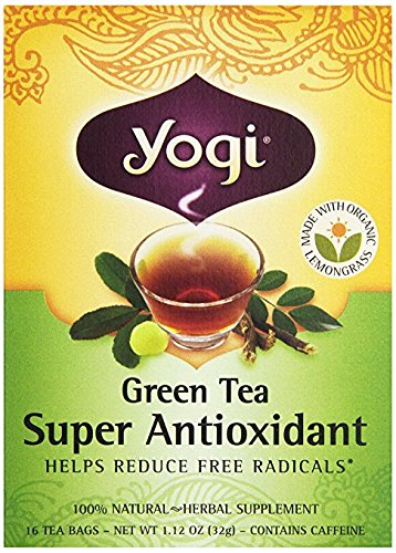 Yogi Green Tea Super Antioxidant 16 Bags