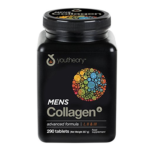 Youtheory Mens Collagen Advanced 1, 2 and 3 290 Tablets